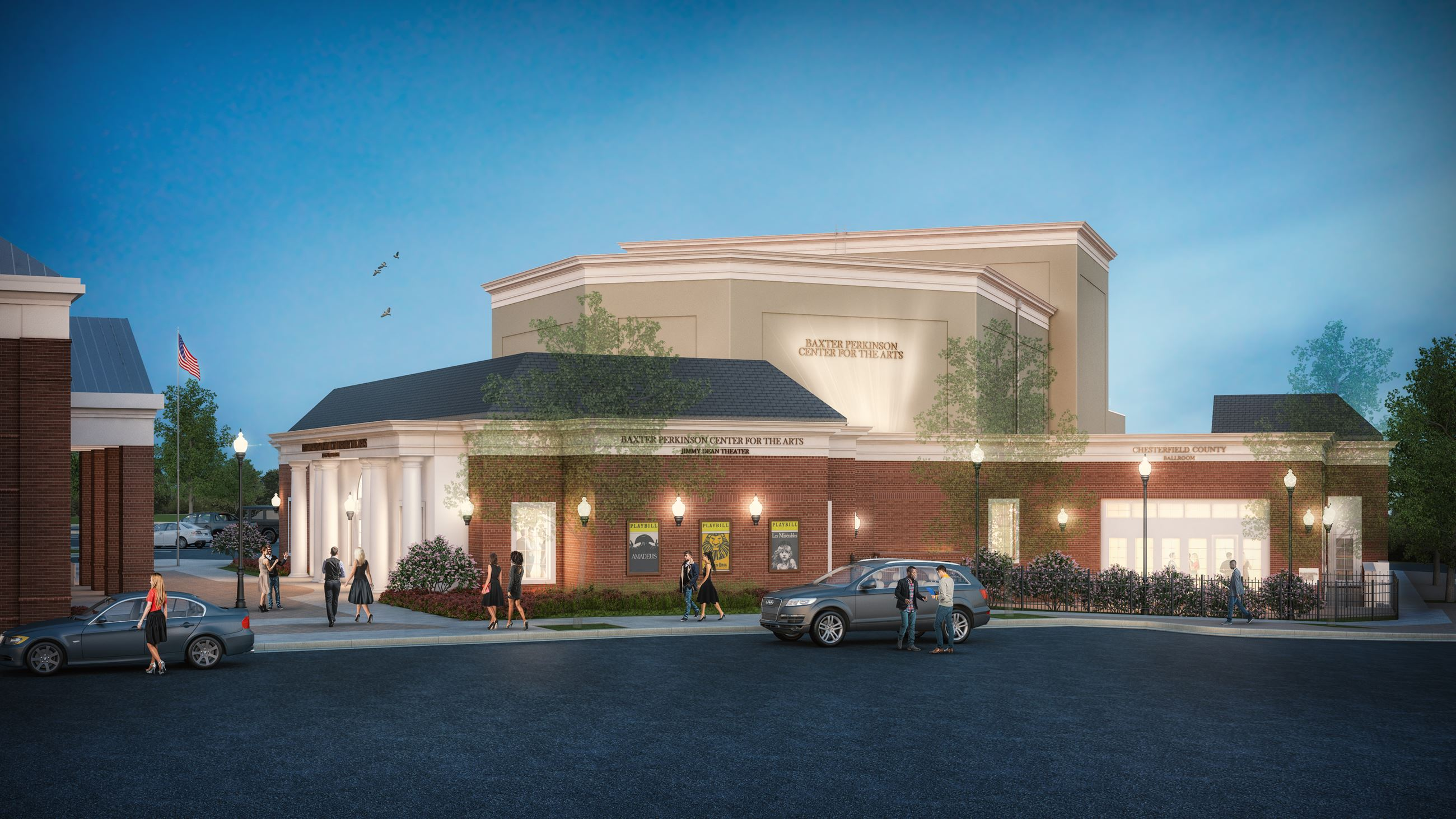Chesterfield Center for the Arts External rendering