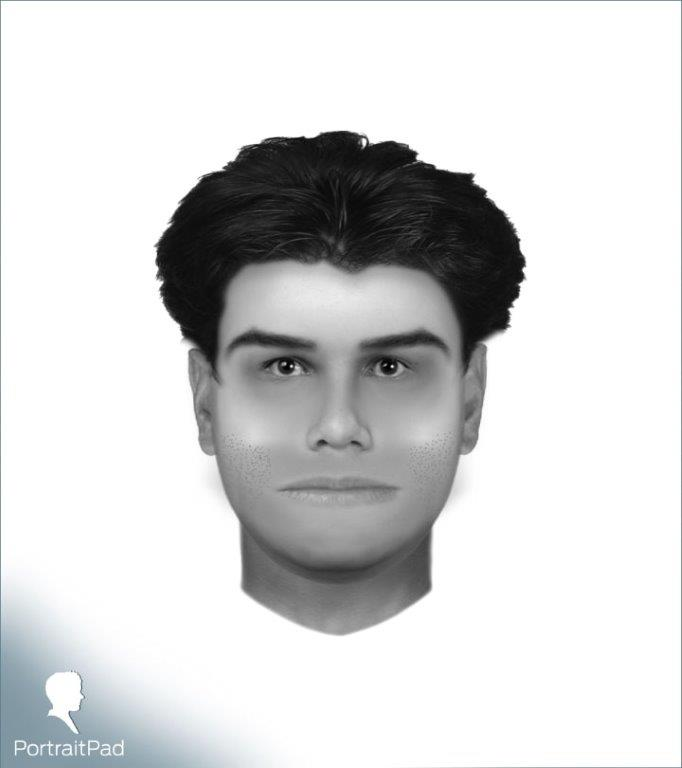 Composite Sketch of Unknown Man 7-17-2020