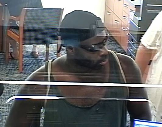 SunTrust Robbery Suspect Photo 1 10-1-18