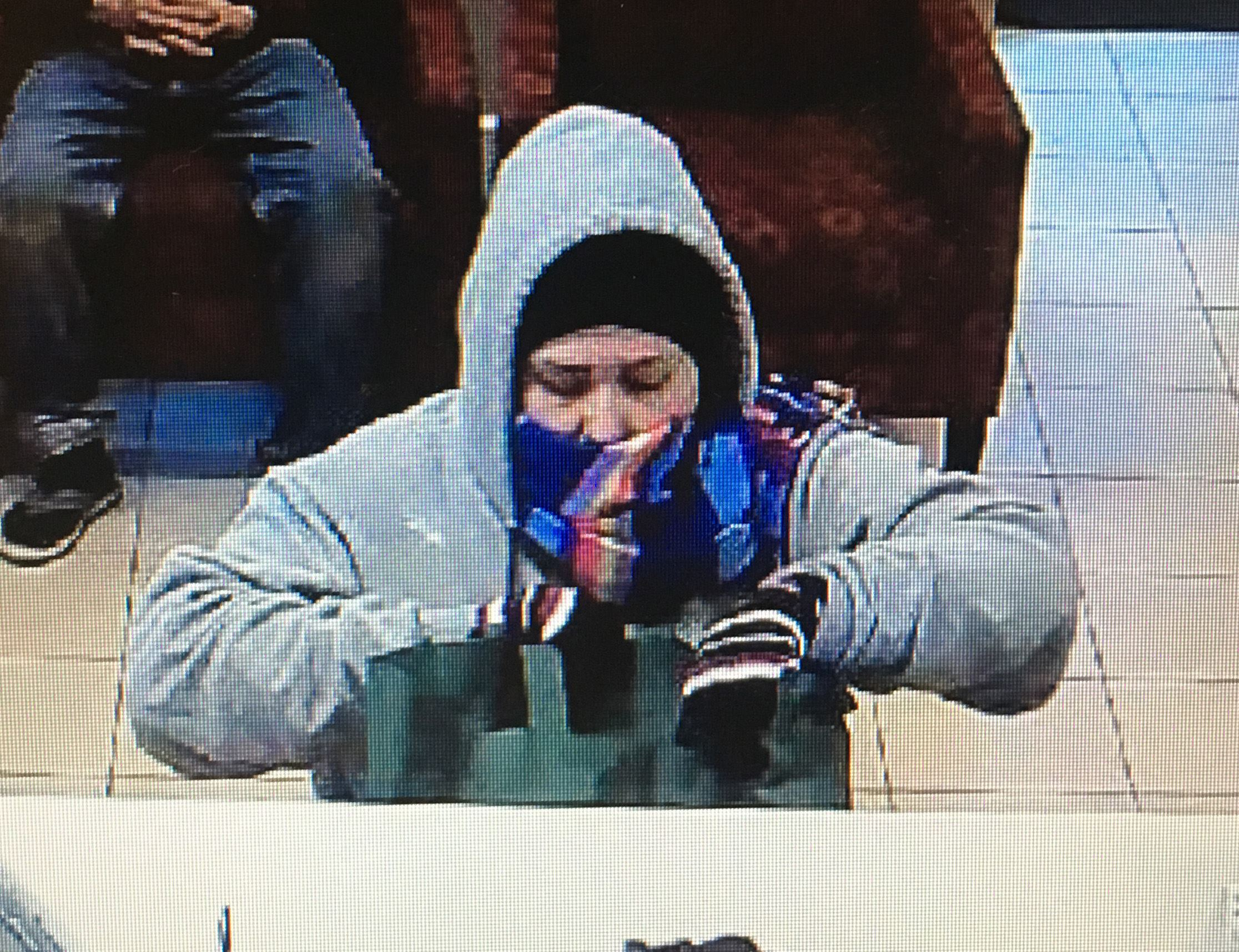 Suspect in 1-5-19 Wells Fargo Robbery Photo 1