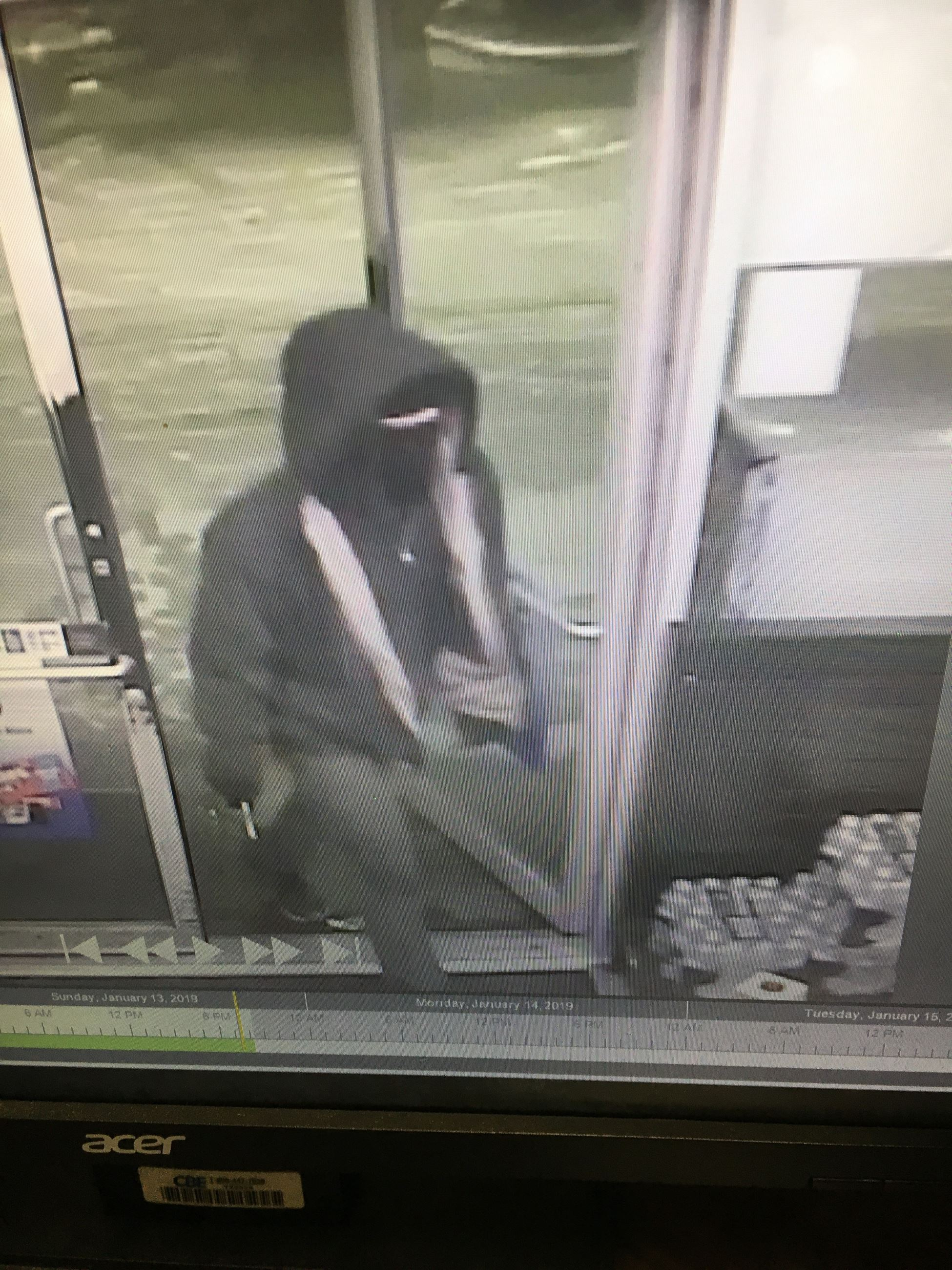 Suspect in 1-13-19 Exxon Robbery Photo 1