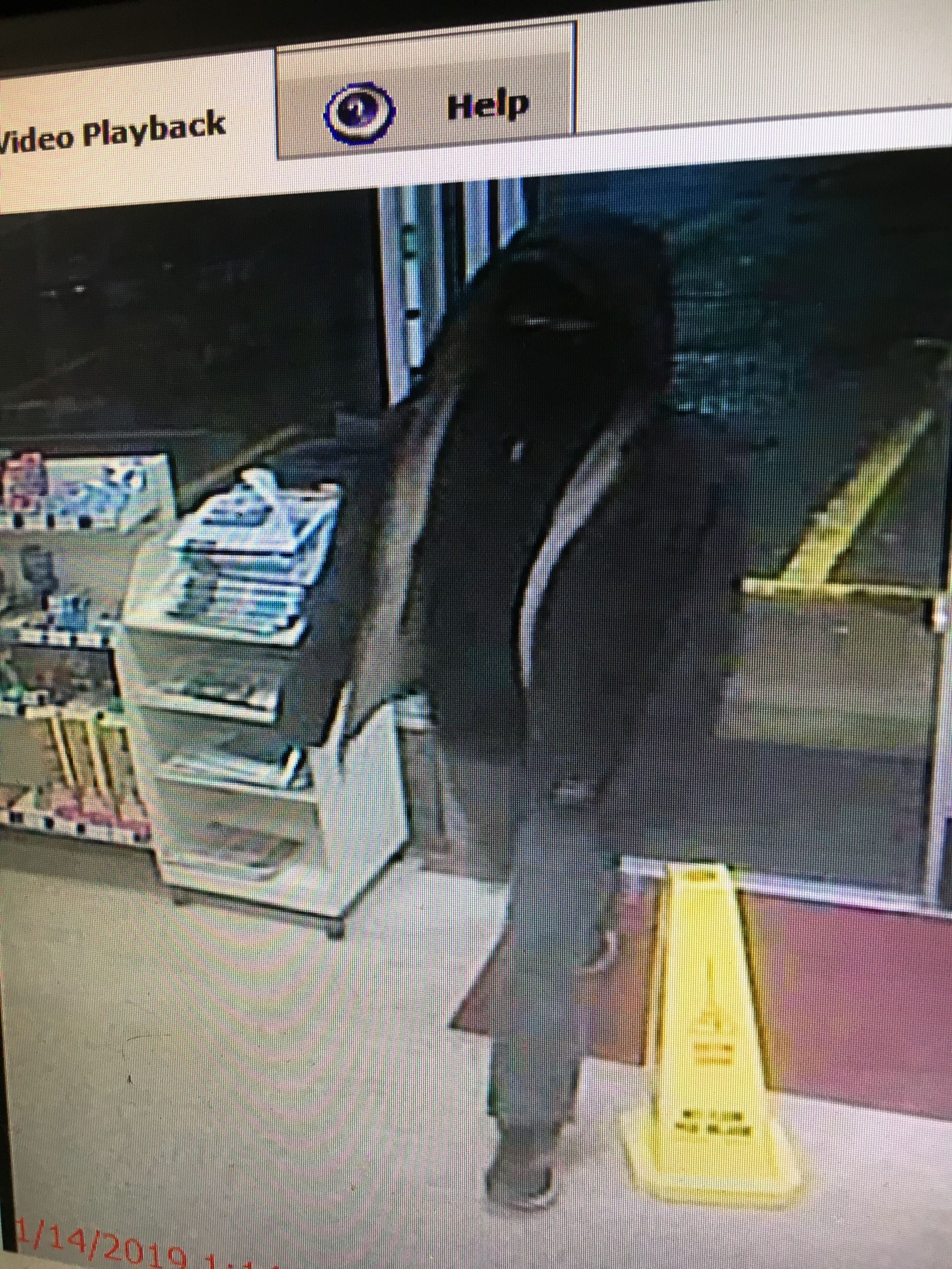 Suspect in 1-14-19 7-Eleven Robbery