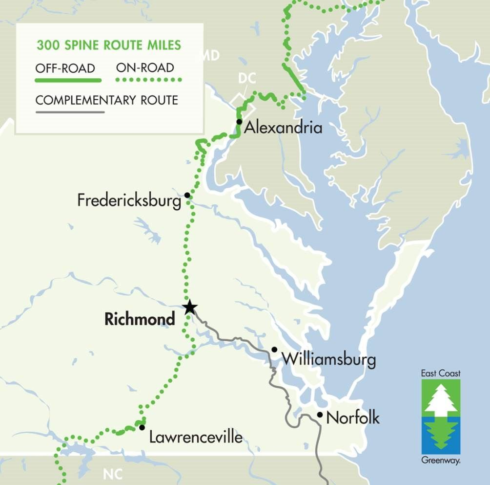 Virginia East Coast Greenway