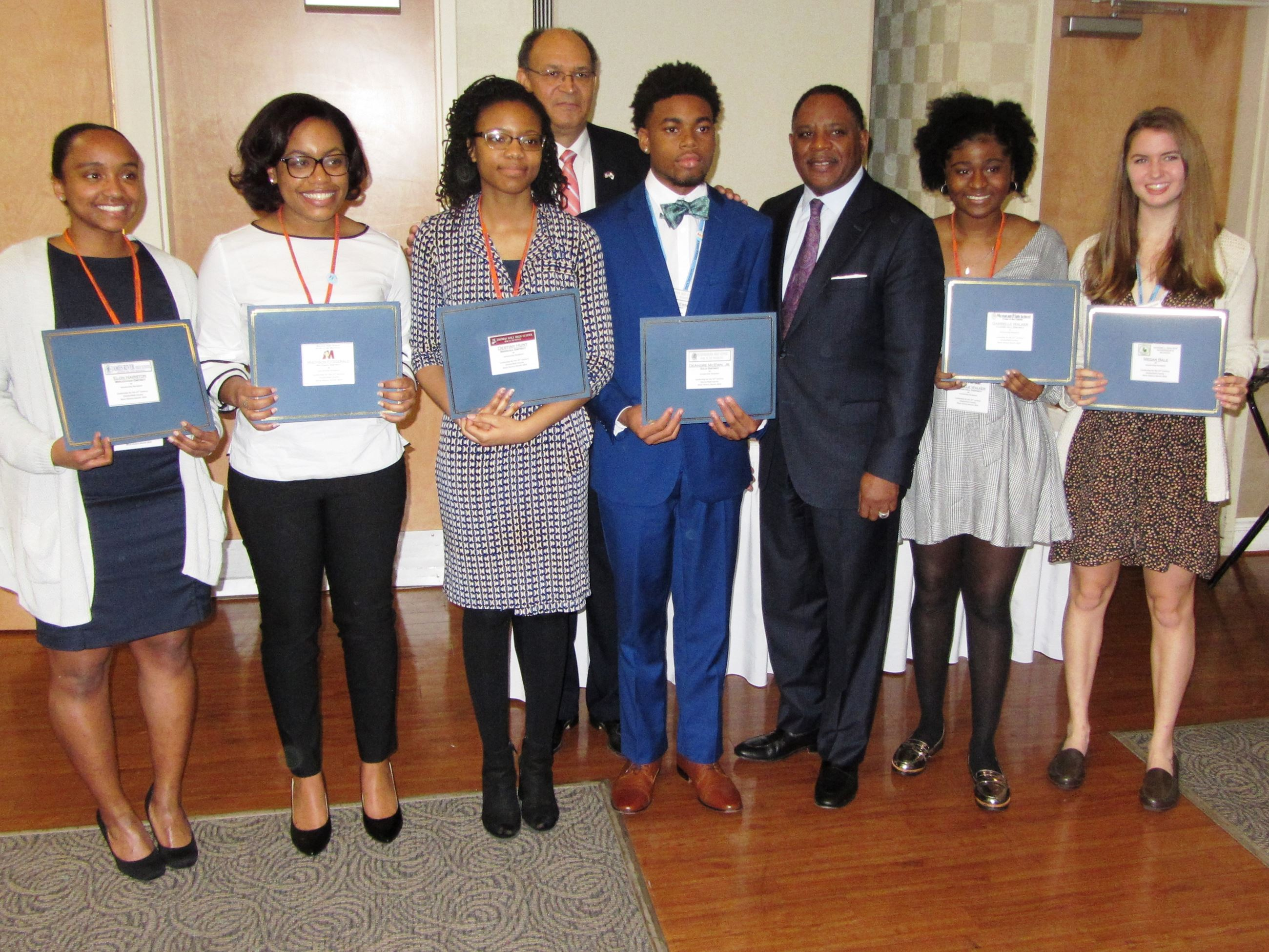 Six Leadership for the 21st Century Scholarship Winners