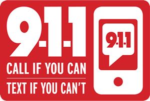 text if you can't call 911